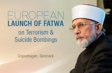 European Launch of Fatwa on Terrorism & Suicide Bombings-by-Shaykh-ul-Islam Dr Muhammad Tahir-ul-Qadri