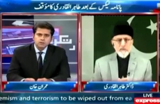 Interview of Dr Muhammad Tahir-ul-Qadri Program: Takrar، Express News (Imran Khan)-by-Shaykh-ul-Islam Dr Muhammad Tahir-ul-Qadri