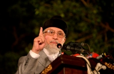 Women Dharna Mall Road Lahore Families of martyrs stage sit-in for release of Najfi Commission report-by-Shaykh-ul-Islam Dr Muhammad Tahir-ul-Qadri