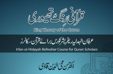 Ring Theory of the Quran Irfan-ul-Hidayah Refresher Course for Quran Scholars-by-Dr Hassan Mohi-ud-Din Qadri