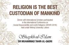 Religion is the Best Custodian of Mankind-by-Shaykh-ul-Islam Dr Muhammad Tahir-ul-Qadri