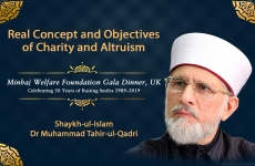 Real Concept and Objectives of Charity and Altruism-by-Shaykh-ul-Islam Dr Muhammad Tahir-ul-Qadri